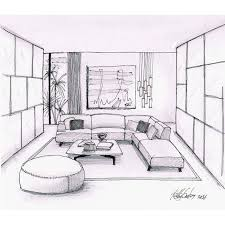 interior sketches living room sketch designer fabio santos