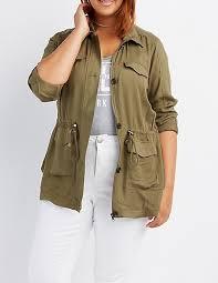 plus size light jacket plus size lightweight anorak jacket charlotte russe