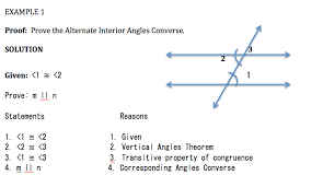 Example Of Alternate Interior Angles Rossigeometrypd5 3 4 Proving Lines Are Parallel