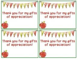 thank you cards for teachers thank you cards for appreciation week editable tpt