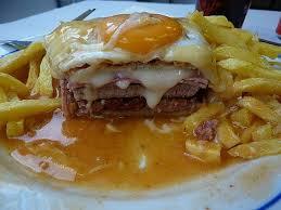 cuisine am ag pas cher but francesinha portuguese food portuguese addiction