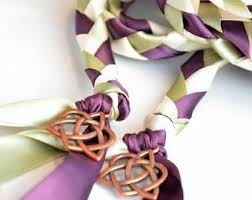 celtic handfasting cords check out celtic triquetra copper heart knot wedding handfasting