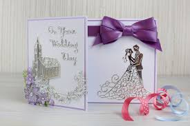 weding cards how to make a die cut wedding card hobbycraft