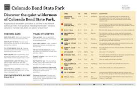 Colorado Bend State Park Map by Eating With The Deer At Colorado Bend State Park