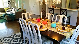 retro ranch reno thanksgiving tablescape dish it food