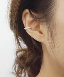 ear cuff piercing silver ear cuff simple earring sterling silver