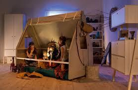 spot chambre enfant tipi pour lit enfant spot vox file dans ta chambre