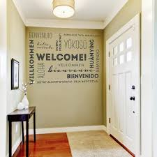 Welcome Home Decorating Ideas Welcome Wall Decal Home Decor Ideas Superb Lovely Home