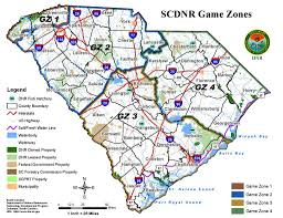 Map Of South Carolina Counties Temporary Hunting Season Closure Declared In Select South Carolina