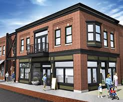 two storey building change ups two story building planned for ada village 2016 03