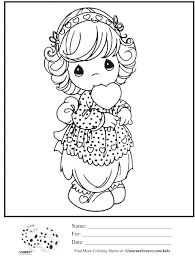 precious moments valentine coloring pages aecost net aecost net