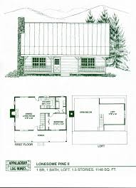 large log cabin floor plans