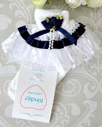 navy blue ribbon baby navy blue socks baby bridesmaid socks