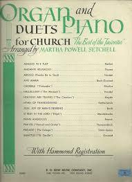 tredwellsmusic organ and piano duets for church arr martha