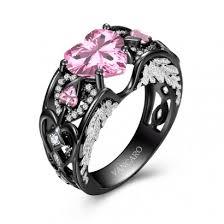 vancaro black ring black engagement ring black wedding ring