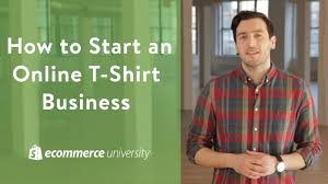 small business ideas start an online t shirt business