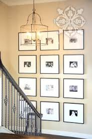 Staircase Wall Ideas Hickory Stair Treads White Risers New House Pinterest Stair