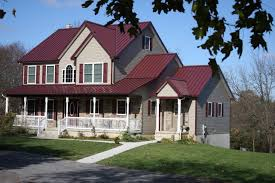 Metal Roof On Houses Pictures by Excellent Red Metal Roof Homes 11 Remodel Home Decoration For
