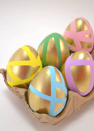 pastel easter eggs pastel and gold easter eggs a bigger