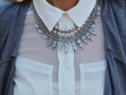 necklace shirt images How to wear necklaces with collared shirts shirt style collar jpg