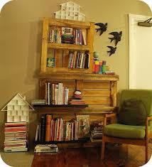 Replacement Shelves For Bookcase Diy Project Claire U0027s Pallet Shelf U2013 Design Sponge