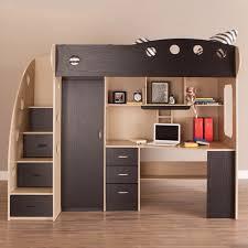 Loft Bed Maple Black - Jysk bunk bed