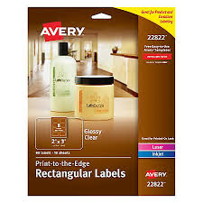 avery easy peel print to the edge permanent inkjetlaser