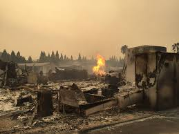North Bay Fire Department Chief by Deadly Destructive Wildfires Rage Through Northern California
