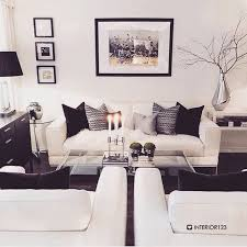 White Sofa Living Room Ideas Lovable Black And White Living Room Best Decor On White