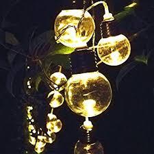 outdoor solar lights strings ltrop 20ft 30 led waterproof