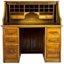 Old Roll Top Desk Antique Roll Top Desk Golden Oak Tambour Front Bureau Small Desk