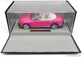 pink bentley bbr models p1887fp scale 1 18 bentley continental gt v8 s