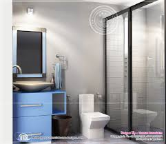 Kerala Home Design Kottayam Beautiful Blue Toned Interior Designs Kerala Home Design And