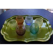 bicchieri ivv bicchieri ivv da acqua in vetro soffiato muticolor