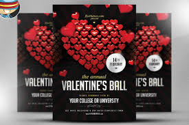 valentines flyer template most popular valentines day flyer template deals out there