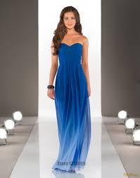 chagne lace bridesmaid dresses gradual change color chiffon formal bridesmaid desses