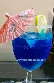 blue lagoon cocktail blue lagoon nidhi recipes