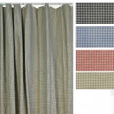 Check Shower Curtain T680 Logan Check Shower Curtain Curtain Factory Outlet