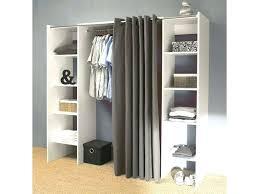 meuble cuisine tout en un armoire avec rideau tissu dressing tout en with meuble cuisine avec
