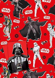 wars wrapping paper wars gift wrapping paper 2 sheets 2 tags