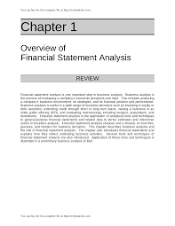 solution manual for financial statement analysis 11th edition by
