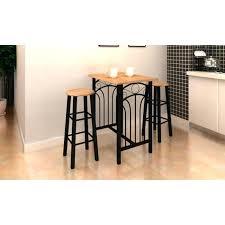 achat bar cuisine table pour la cuisine lot avec une table haute de bar et 2 tabourets