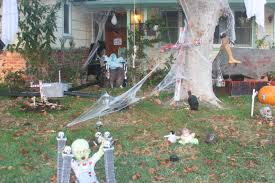scary front yard decorations halloween ode to front yard art society for creative sustainability