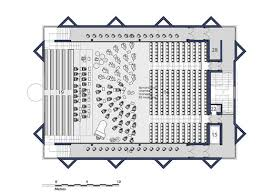 orchestra floor plan richard murphy architects music performing arts building at