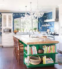 colorful kitchen islands kitchen island color ideas adorable home