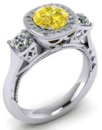 goldfinger wedding rings colour diamond engagement rings