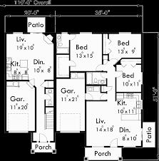 multi level floor plans multiplex house plans multi level house plans f 543