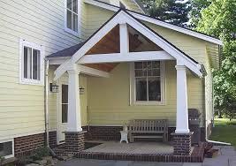 craftsman style porch craftsman style entrance david m burrows architect rochester ny