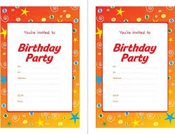 free birthday party invitation template musicalchairs us