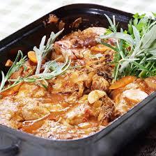 cuisiner lapin au four i27447 lapin au four jpg